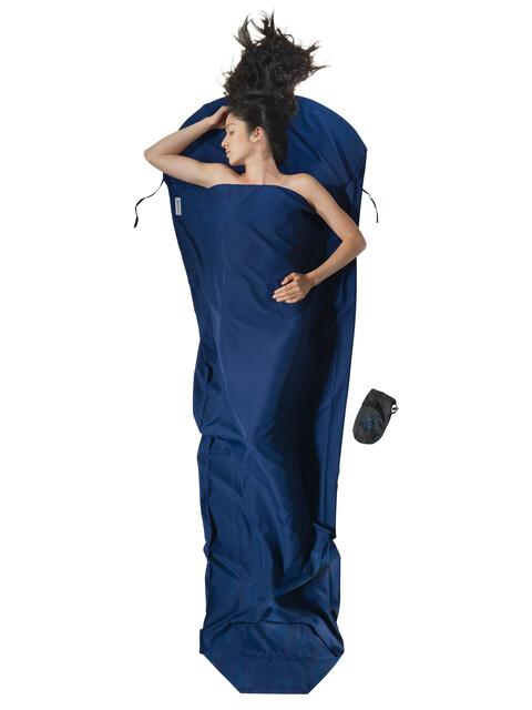 Cocoon - Drap sac de couchage microfibres - bleu foncé